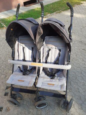 Wózek parasolka bliźniacza