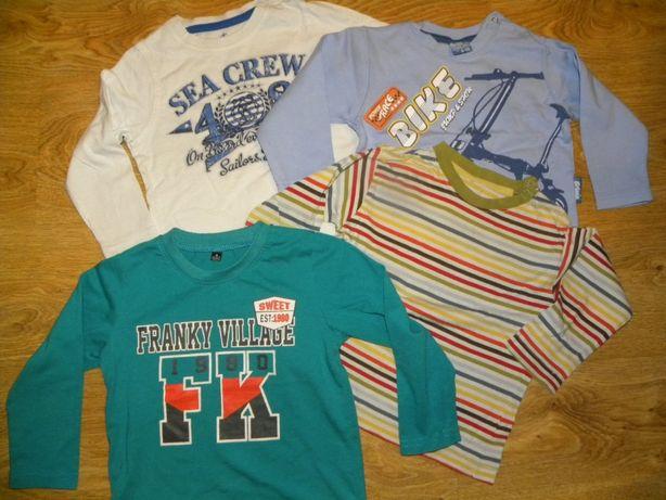 10szt.= 10zł! paka Zestaw koszulek nowe i używane, 51015,lupilu,reKids