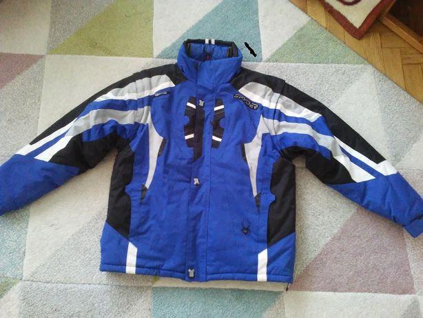kurtka narciarska SPYDER roz.52;mem.20000/odpinane rękawy,termoaktywna