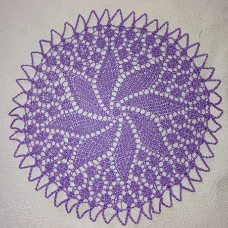 Серветки плетені під чашку