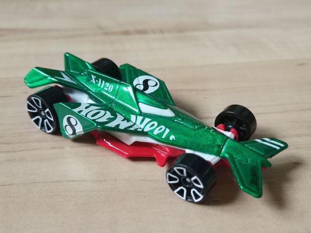 Kolekcjonerski Bad to Blade Wyścigówka Hotwheels Mattel Samochodzik
