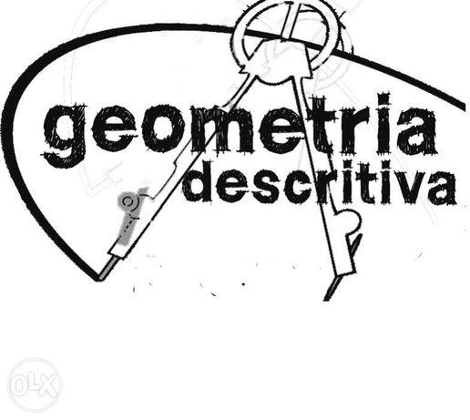 Geometria Descritiva - explicações secundário/superior Lisboa
