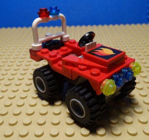 Lego City wóz straży pożarnej klocki