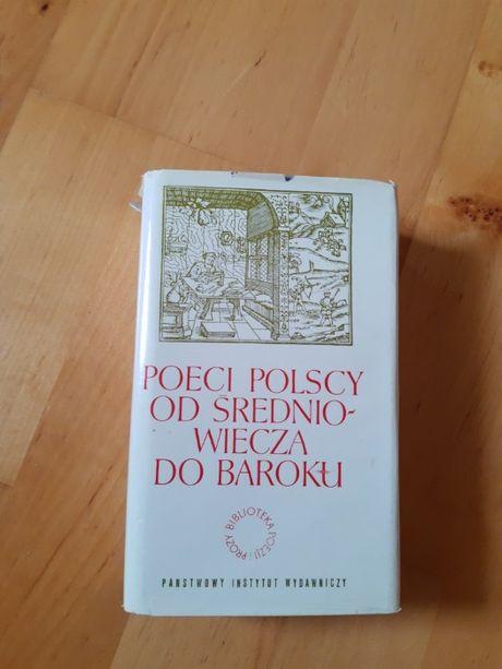 Poeci polscy od średniowiecza do baroku, K. Żukowska