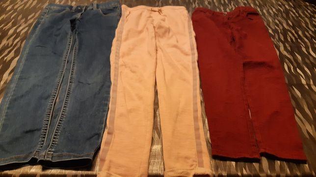 Spodnie dla dziewczynki lat 9-10
