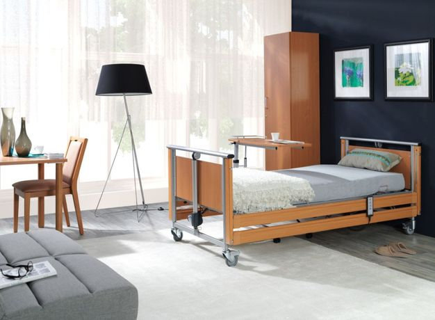 Nowe profesjonalne łóżko rehabilitacyjne Elbur 326 sterowane pilotem