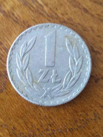 moneta 1 zł z 1976 roku