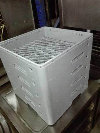 Cesto plástico p/ máquina de lavar louça 500x500 mm (novos)