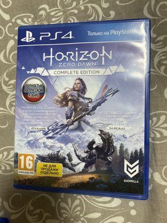 Новый диск на PS4 Horizon