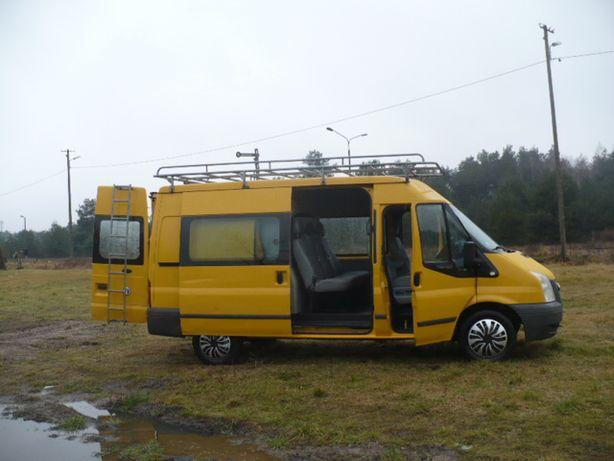 Ford Transit 6 OSÓB Brygadówka Oryginalna Zabudowa Klimatyzacja itp