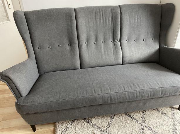 Sofa fotel podnóżek Strandmon IKEA