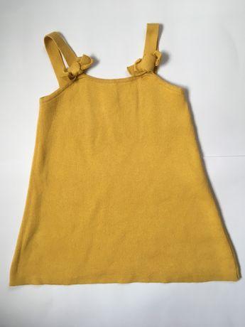 Платье Zara knit 3-4года 104см