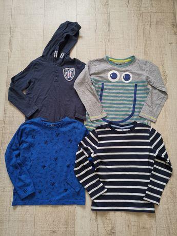 Zestaw 10 bluzek dla chłopca 110-116