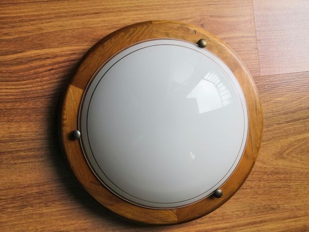 Lampa sufitowa ścienna okrągła