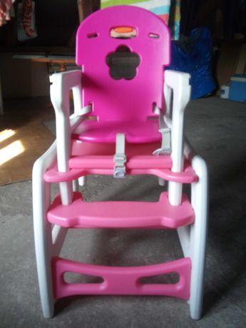 Krzeselko kindereo 5w1 krzeselko stolik fotel bujany
