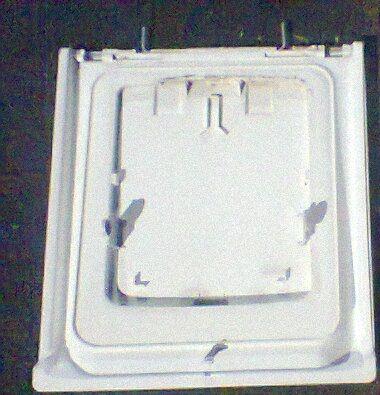 Pralka Indesit Polar pojemnik do proszku drzwi