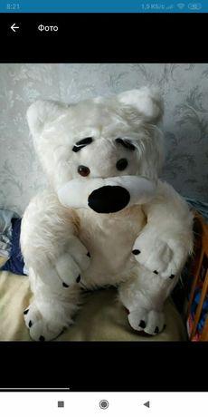 мягкие игрушки белый медведь