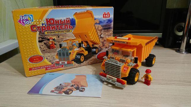 Lego Лего Белаз з інерційним моторчиком