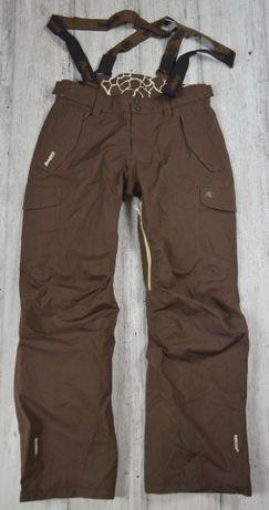 BERGANS OF NORWAY DERMIZAX Giraffe damskie spodnie narciarskie - M