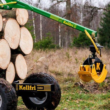 chwytak do pni kłód drewna Kellfri 1000mm