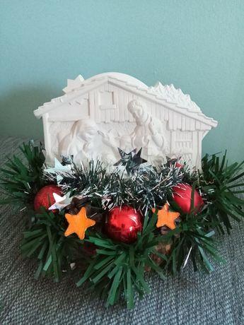 Szopka Bożonarodzeniowa stroik