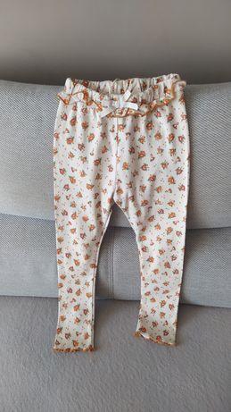 Zara nowe spodnie leginsy dla dziewczynki w rozmiarze 110