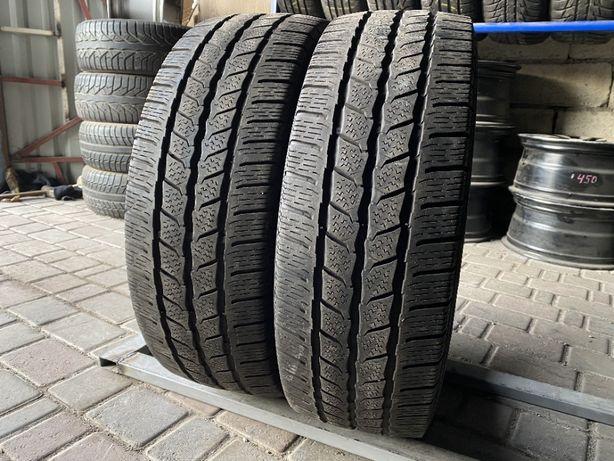 зима цешка 215\65\R16C 2018г 6,5мм Continental 2шт шины шини С