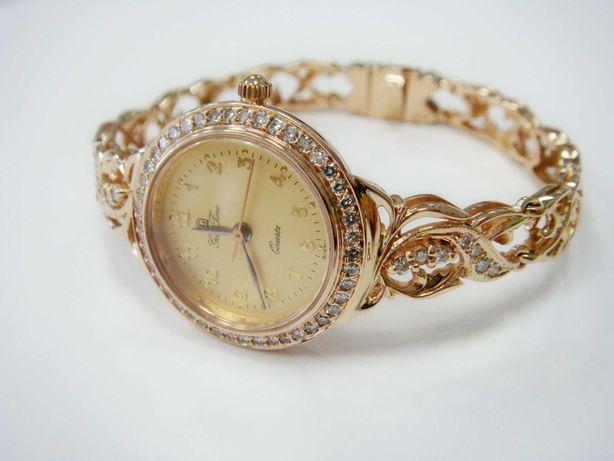 Часы женские золотые с бриллиантами (арт. 5757)
