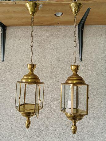 2 candeeiros para tecto