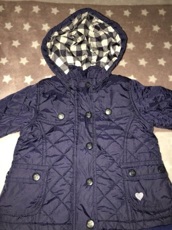Демисезонная куртка 9-12мес