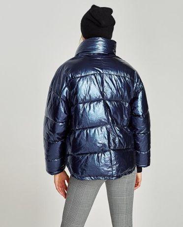 Блискуча куртка ZARA