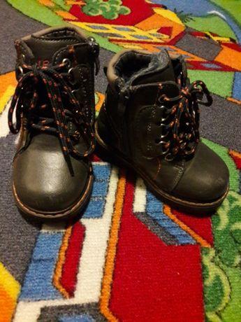 Buty zimowe skórzane 21