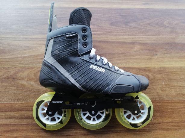 Nowe rolki hokejowe, powerslide reign kronos Tri, rozmiar 41