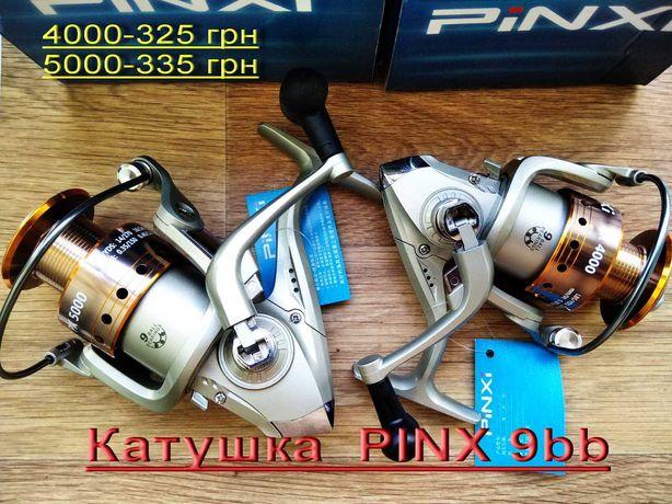 Катушка PINX 4000 5000  9bb  Рыболовная металл шпуля