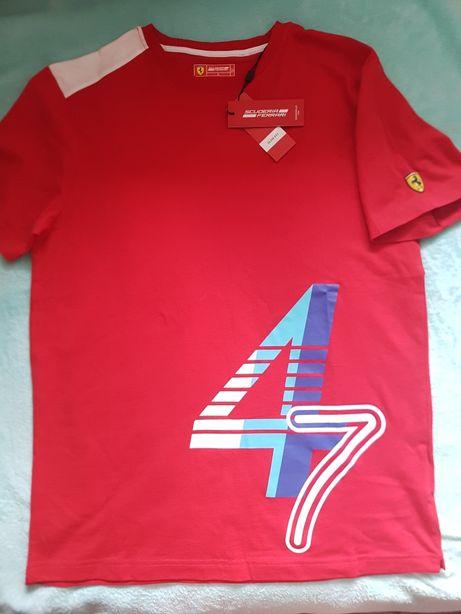 Футболка мужская Scuderia Ferrari оригинал размер L
