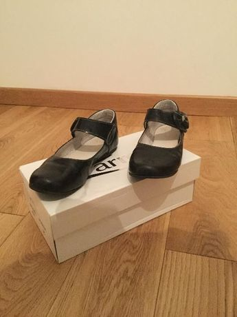 Buty dziewczęce czarne lakierki ZARRO