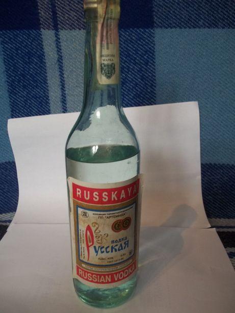 Бутылка старая(Украина)