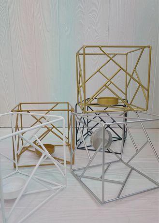 Підсвічники - куби