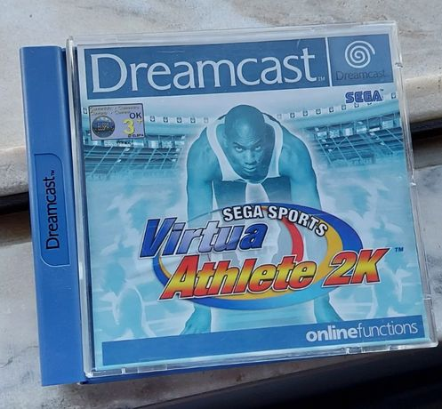 Sega Sports Virtua Athlete 2K Dreamcast
