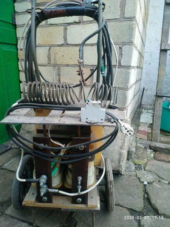 Сварочник промышленный апарат на тележке тяжелый
