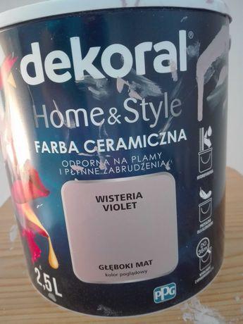 Farba ceramiczna Dekoral Wisteria Violet