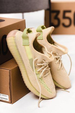 Кроссовки мужские Adidas Yeezy Boost 350 v2 Flax