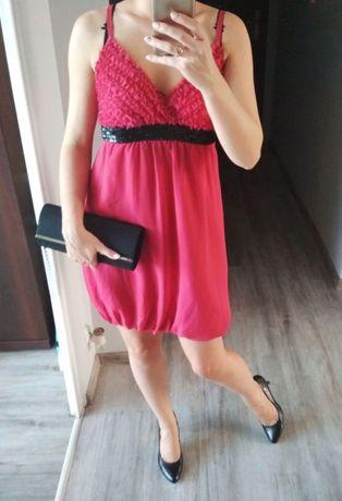 Różowa sukienka Reserved 36