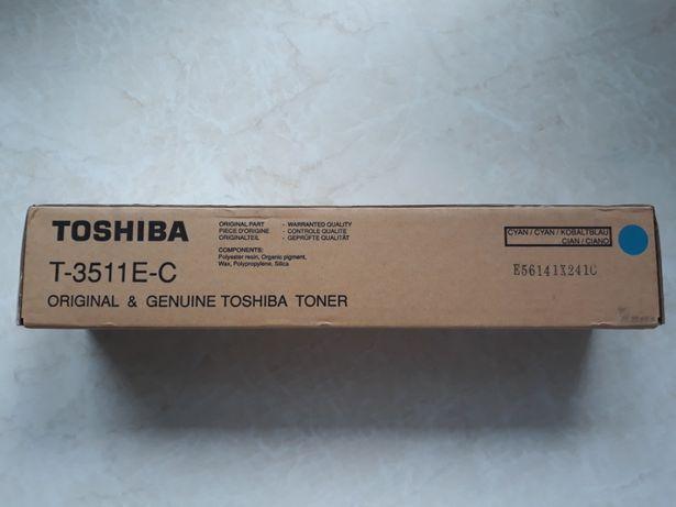 Toner Toshiba niebieski