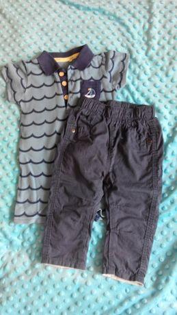 Боді пісочник поло 3-6 міс + штани George 3-6 міс