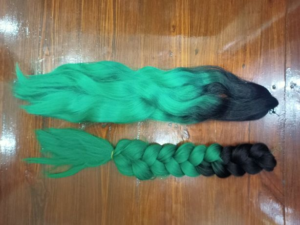 Мото коса, канеколон, хвост, волосы