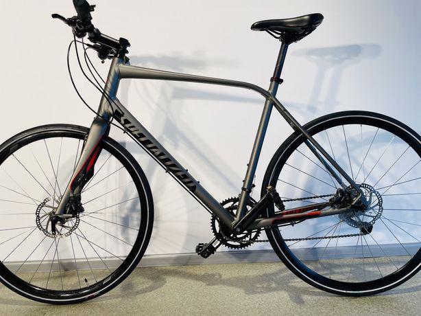 Велосипед Specialized Sirrius Elite 28 Shimano Sora Вилка карбон