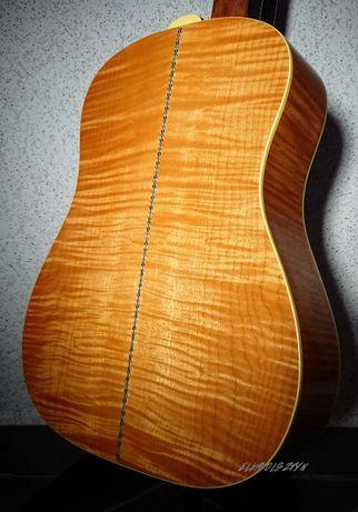 Gitara Elektryczna Paramount PFJ4S Lity Przypalany Klon + POKROWIEC