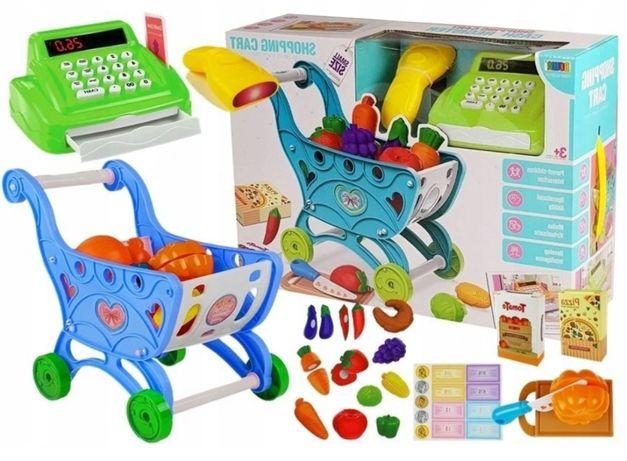 Sklep market zabawka dla dzieci edukacyjna