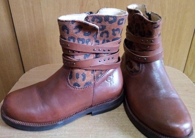 Шкіряні чобітки Італія